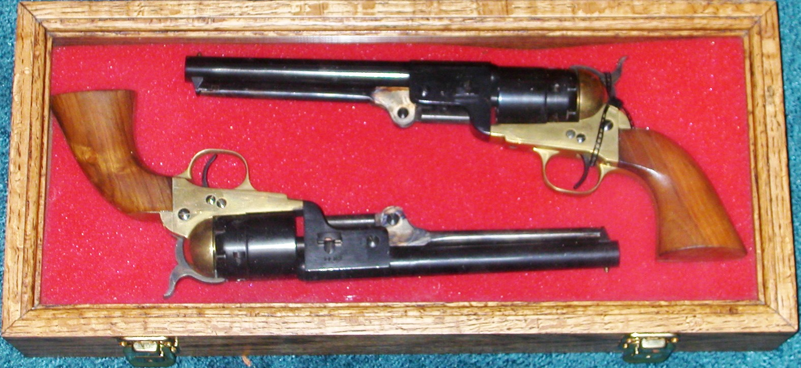 Col Hartley's Collection: Gallery 7 Non-Japanese Weapons, Pistols